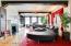 Open Spacious Living room, wood floors, beautiful 11th floor views