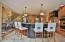 Custom Kitchen with Granite that's great for entertaining!