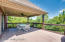 Partially covered large deck allows opportunity for indoor-outdoor entertaining or casual dining during our nice weather.