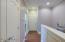 Hallway to garage