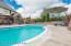 Beautiful pool and patio area.
