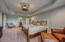 Second Master Suite features a tray ceiling, full en suite bath and walk-in closet