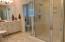 Master bath w/private water closet