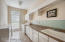 Two laundry rooms for convenience are located on the first and second floor of the home