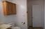 Second bath on first floor