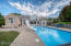 Enjoy the absolute privacy of the backyard and in-ground pool- the perfect place for hosting family and friends