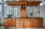 Massive double vanity with granite countertops