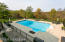 Beautiful pool and pool deck
