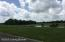 Glimpse of fishing pond.