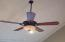 All new fans and light fixtures