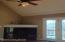 perfect place of a large screen TV above fireplace