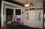 Cozy study area in the bay and built in cabinetry with period jugs.