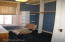Dressing room/office room at rear of hall