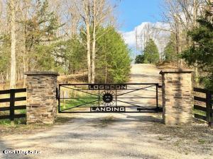 Logsdon Landing gate