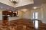 Great room with stunning hardwood floors