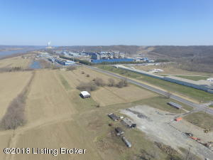 View East towards Ghent, NAS in the background, US Hwy 42, Ohio River to the back of property.