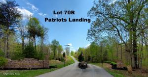 Build-ready home site in Patriots Landing