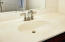 Primary bath has 2 separate sinks.