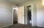Primary bedroom - new carpet and doors