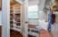 Custom pantry and mudroom space. Drop zone for kids and adults alike.