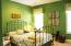 Charming guest bedroom on opposite side of house from Master.