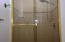 2nd Bath with tiled shower