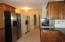 Kitchen (white fridge will be removed(