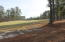 View from front of lot to the fairway & tee