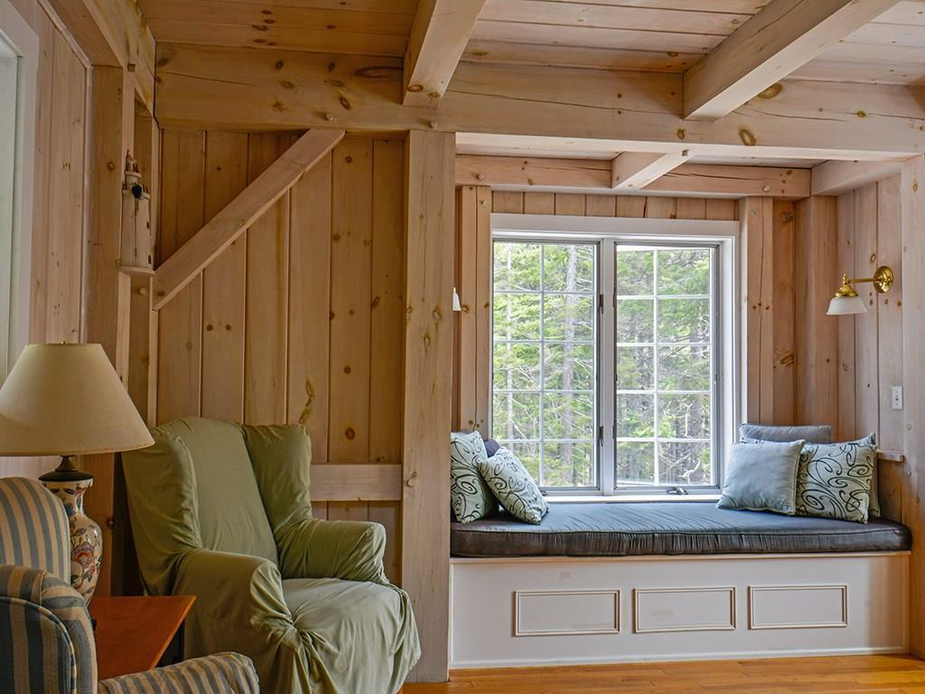 Timberpeg Post and Beam with white...