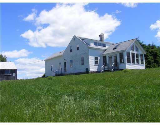 Exterior Front. The circa 1850 home...