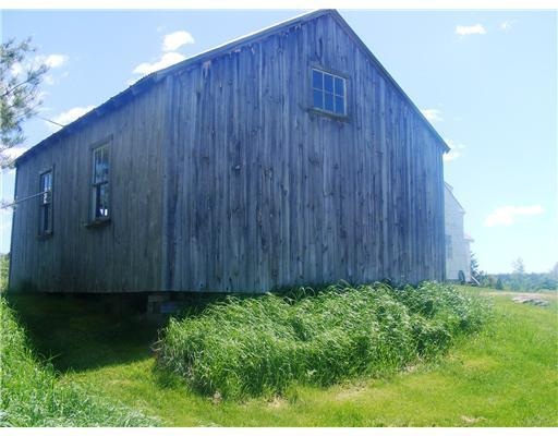 Storage. The barn/garage can...