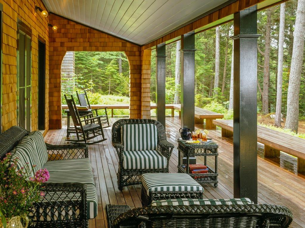 Covered Porch Water Side