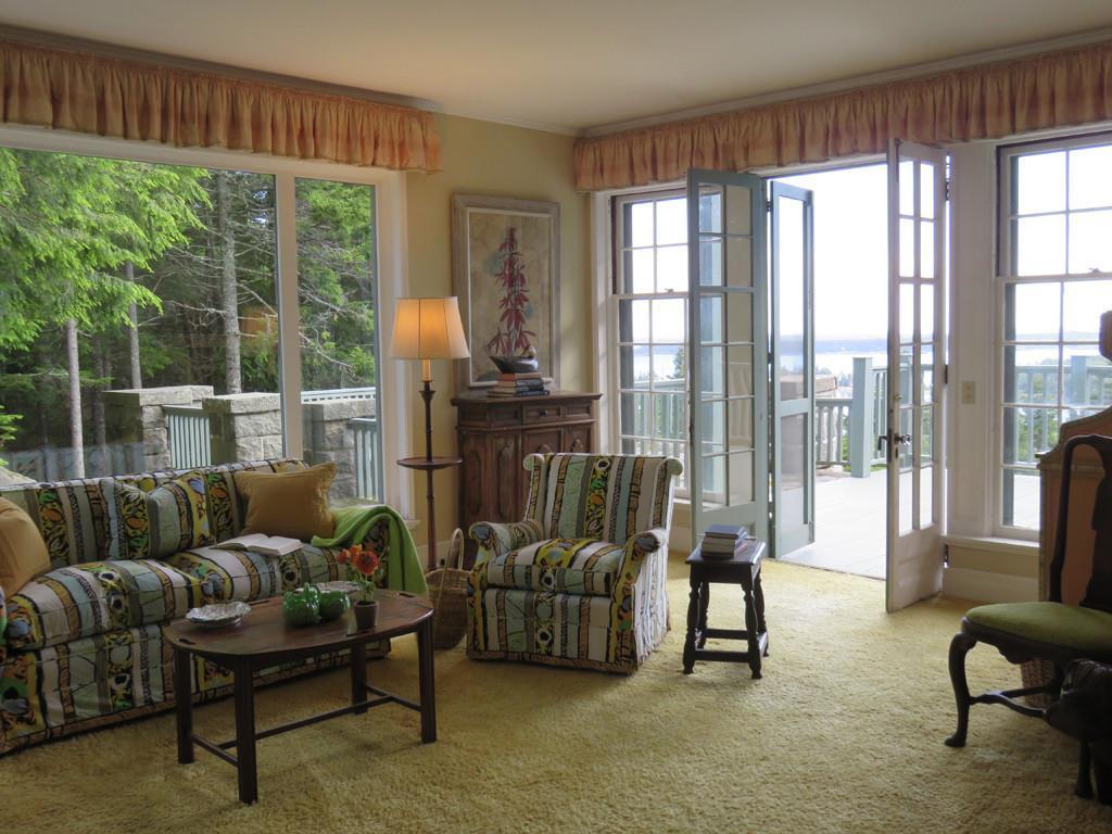 Living room to Porch & views