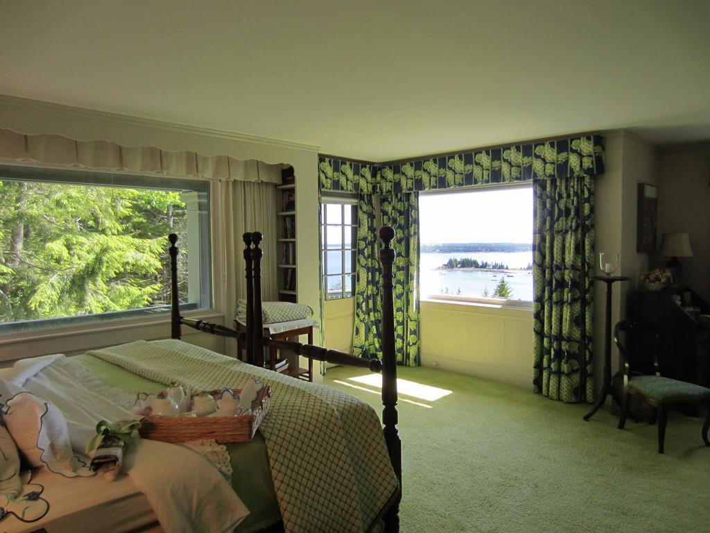 Master Bedroom with Views of Seal...