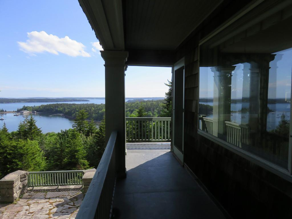 Upper Porch off Master Bedroom and...