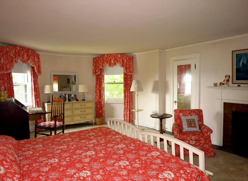 Guest Bedroom and Fireplace
