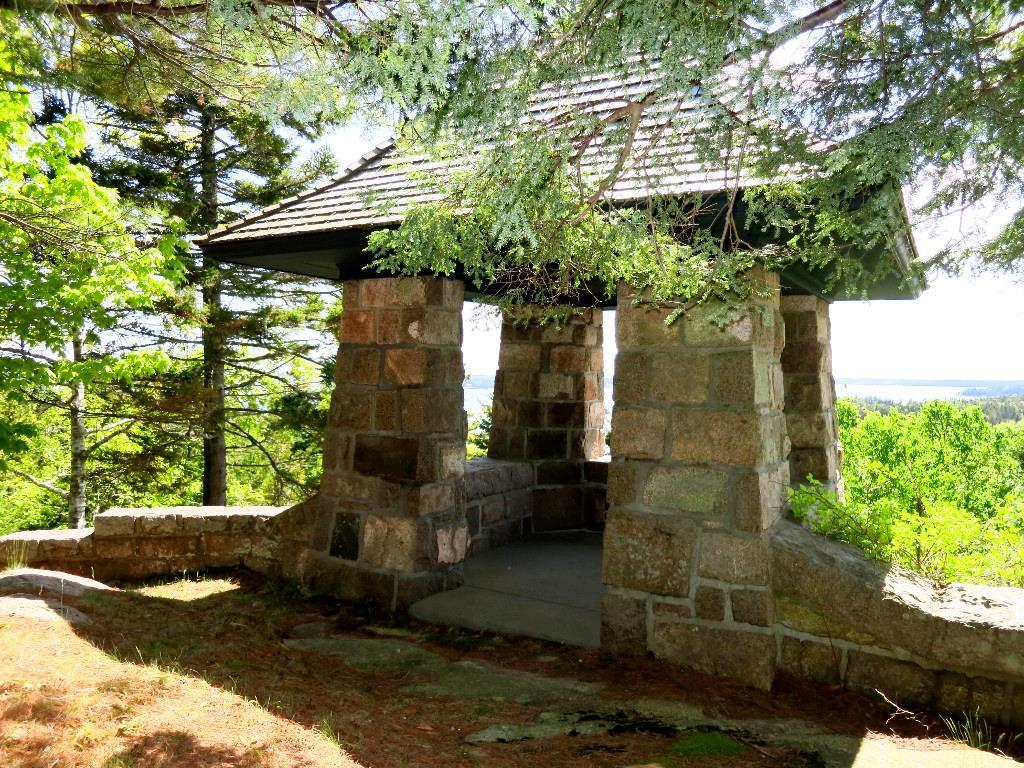 Granite Pergola Entrance