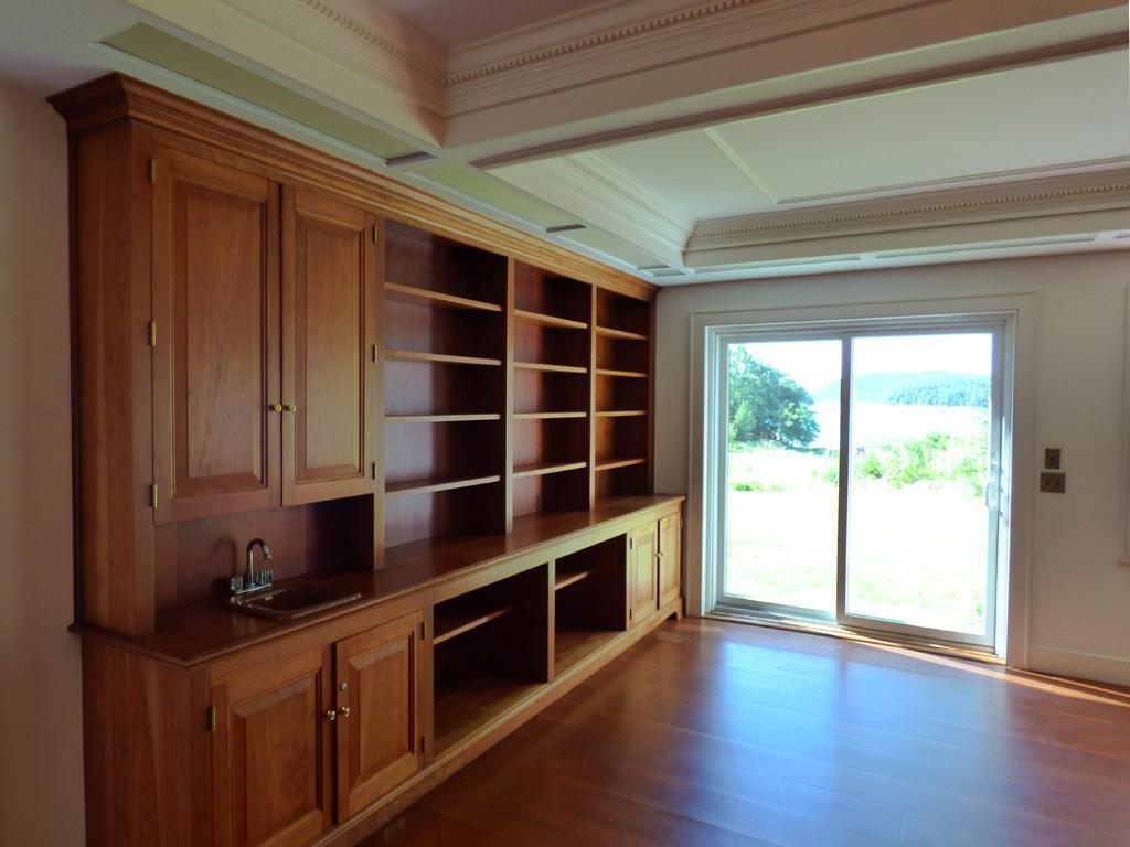 Beautiful custom cabinetry.