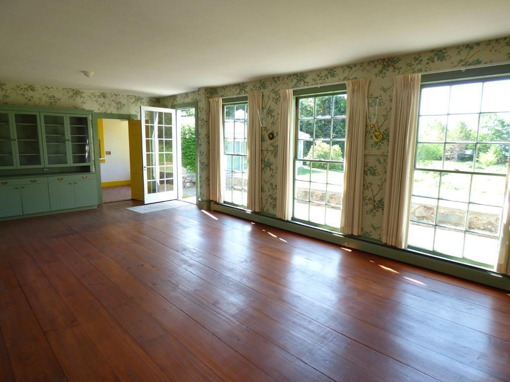 Spacious Dining Room with Floor to...
