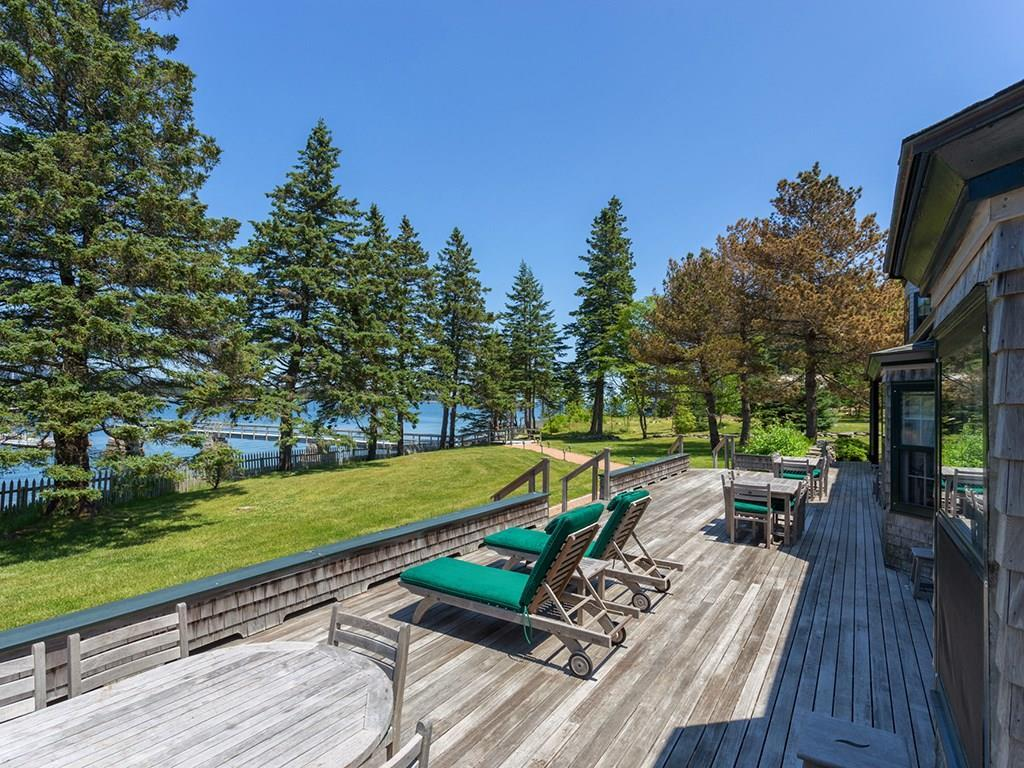 Expansive deck is the perfect place...