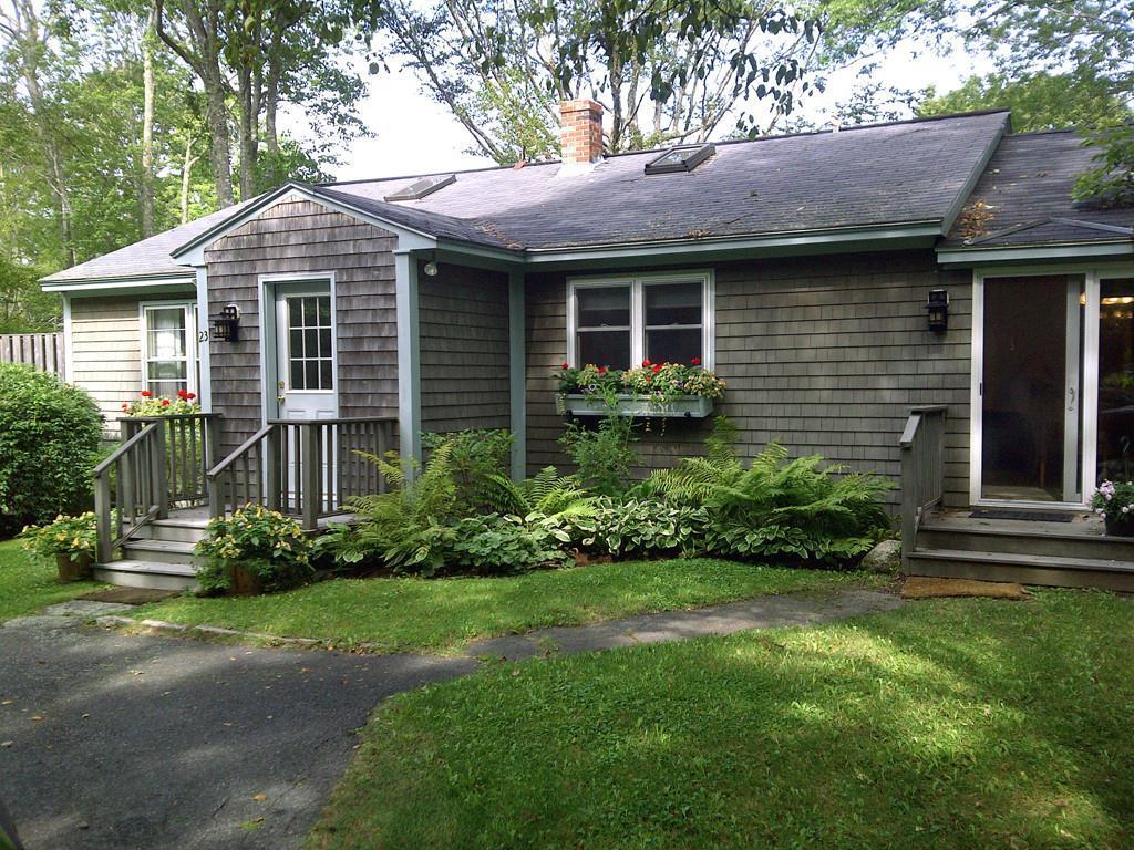 Cottage with sliding door to Kitchen...