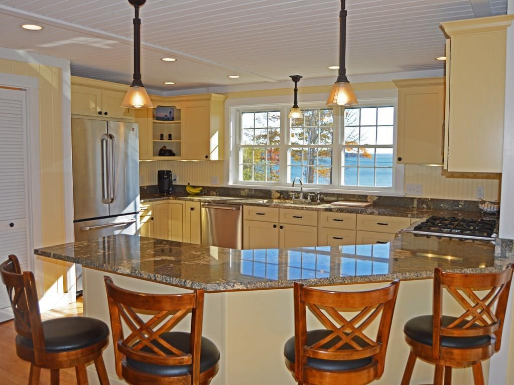 Open concept floor plan boasts a...