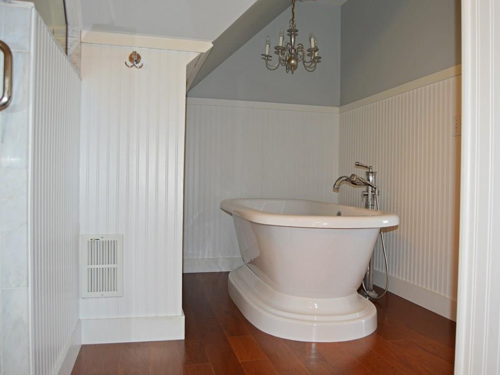The master bathroom also boasts this...