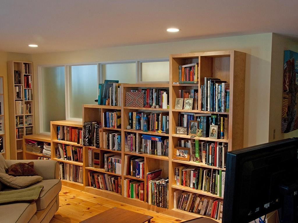Lower level bedroom/media room with...