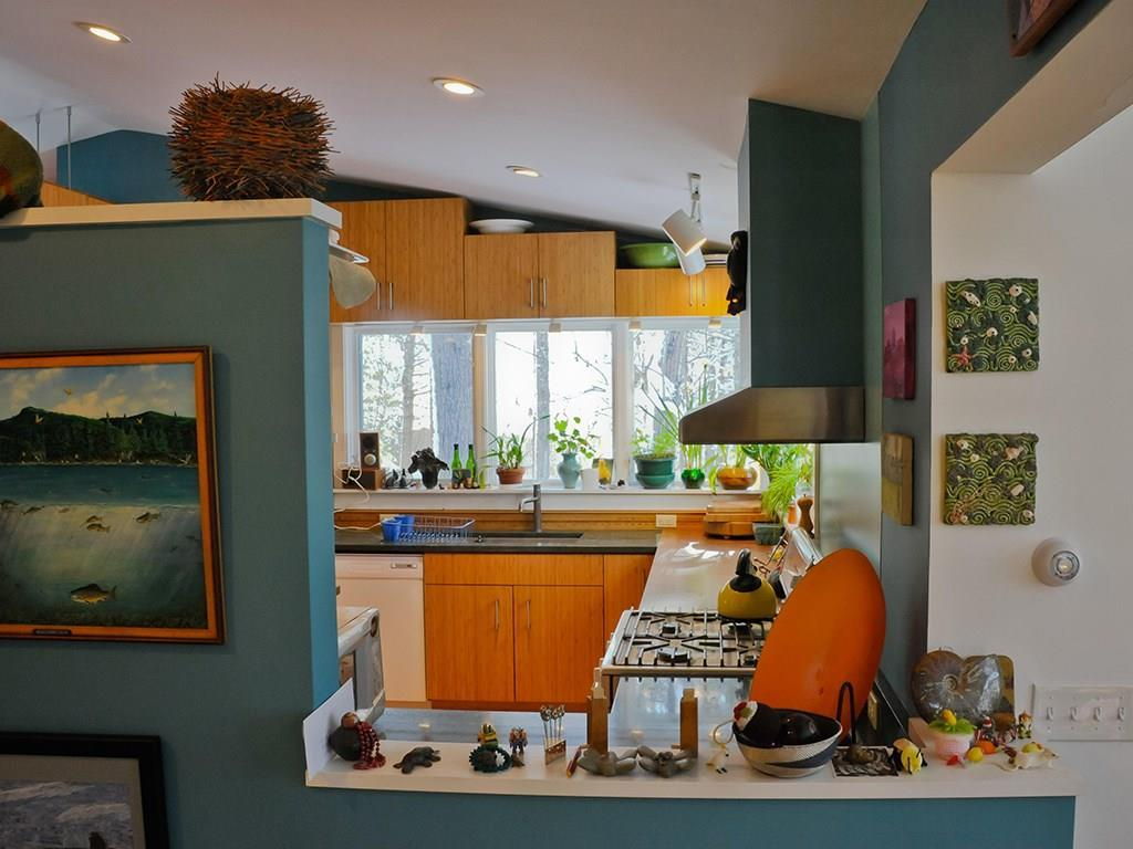 The kitchen was remodeled a few...