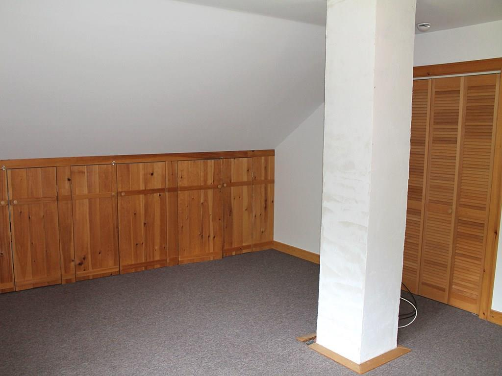 Downstairs bedroom with storage...