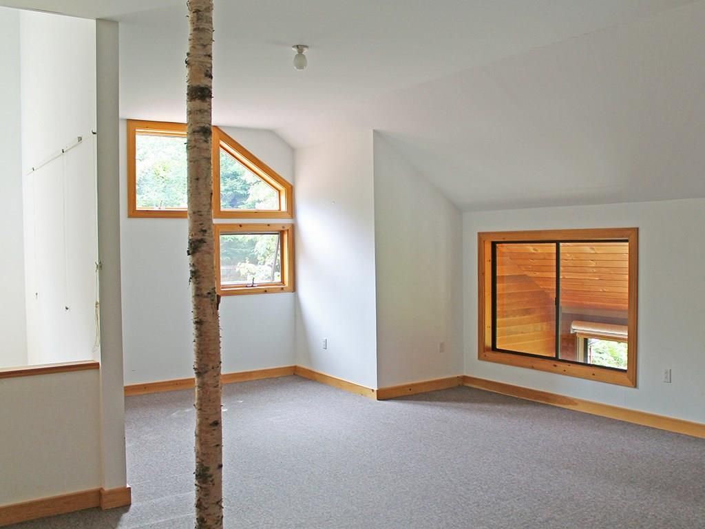 Family room on the second floor with...