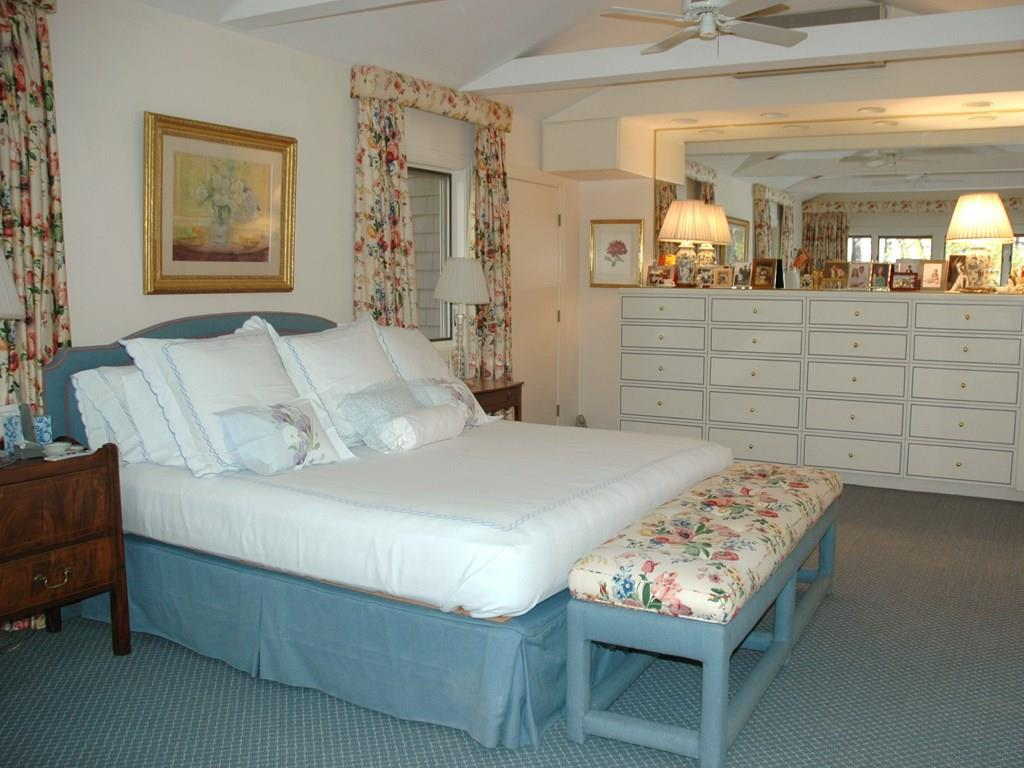 Master Bedroom and beautiful built-ins