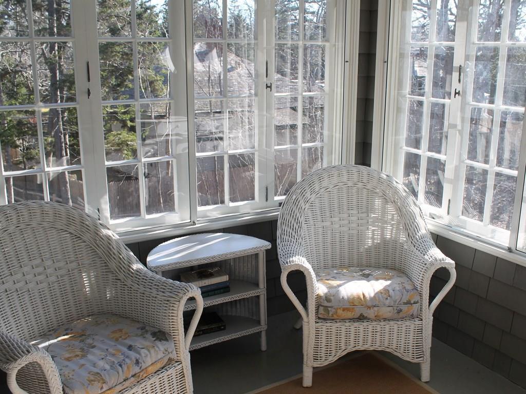 Sleeping porch.