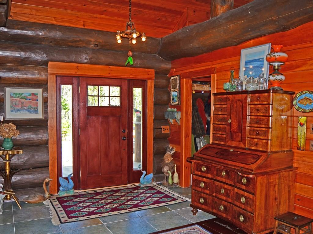 The home's foyer.